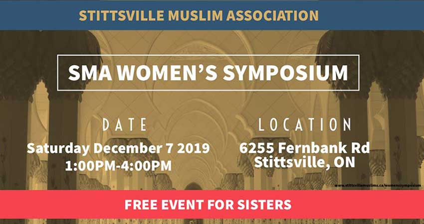 Stittsville Muslim Association Women's Symposium