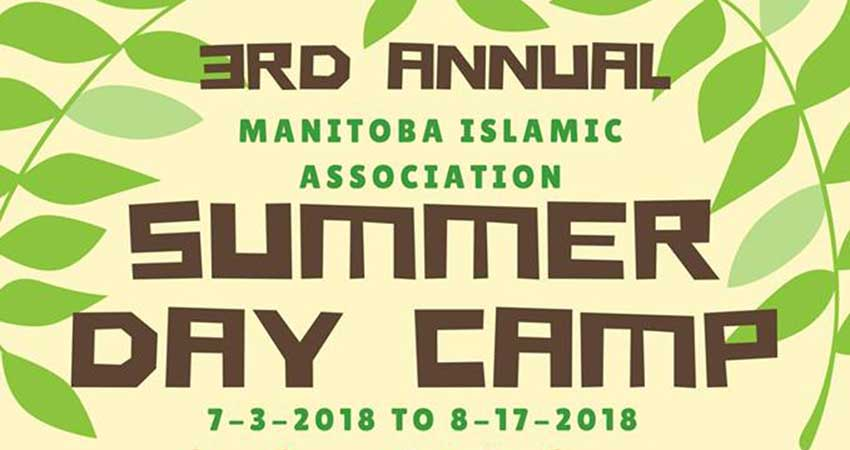 Manitoba Islamic Association Summer Day Camp Registration