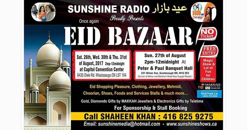 Sunshine Eid Bazaar