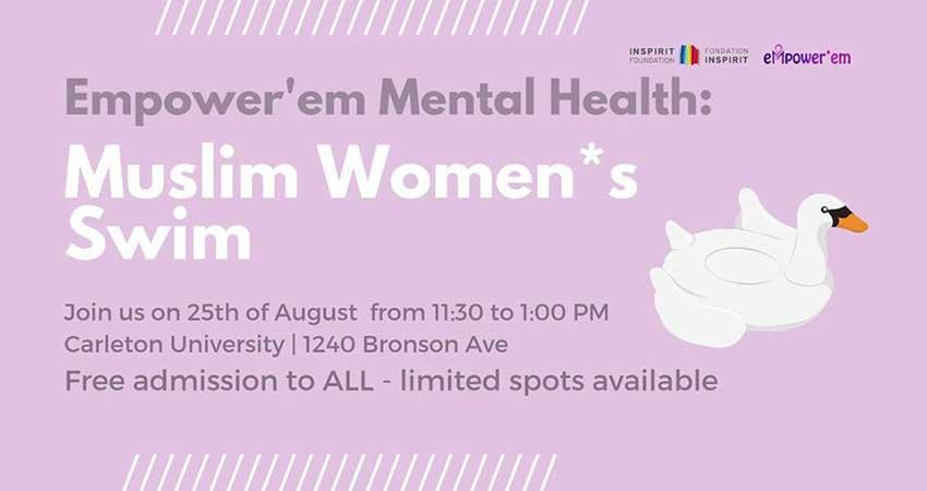 Muslim Women*s Swim with Empower'em (Limited Spots Registration Required)