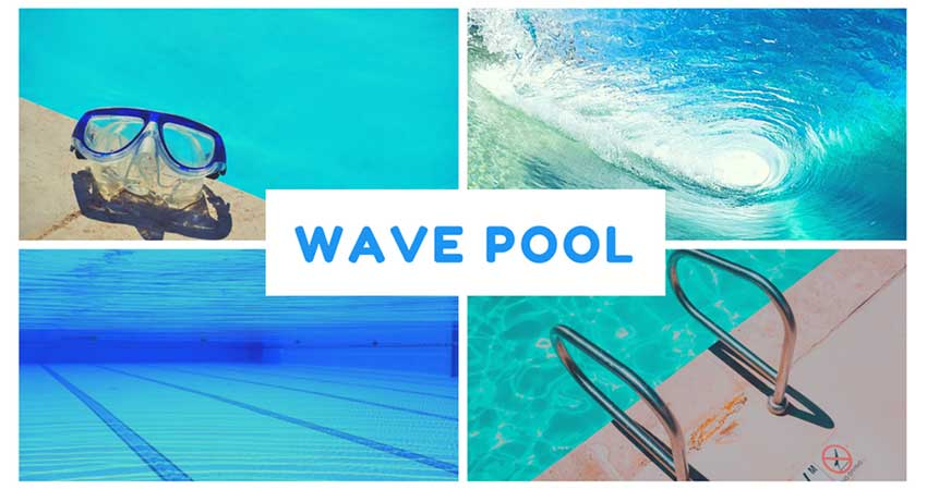 Wave Pool Swimming for Girls & Women