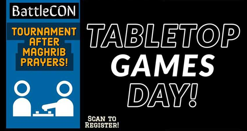 Ummah Masjid And Community Center Tabletop Game Day