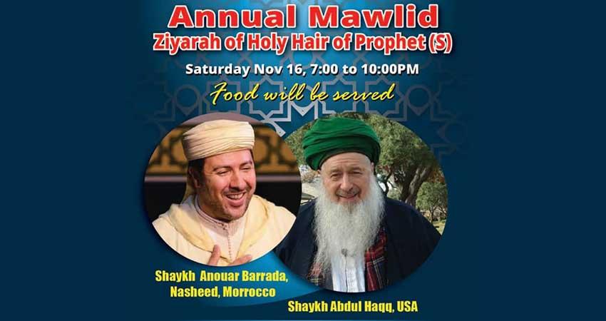 Toronto Mawlid Circles Annual Mawlid with Shaykh Abdul Haqq