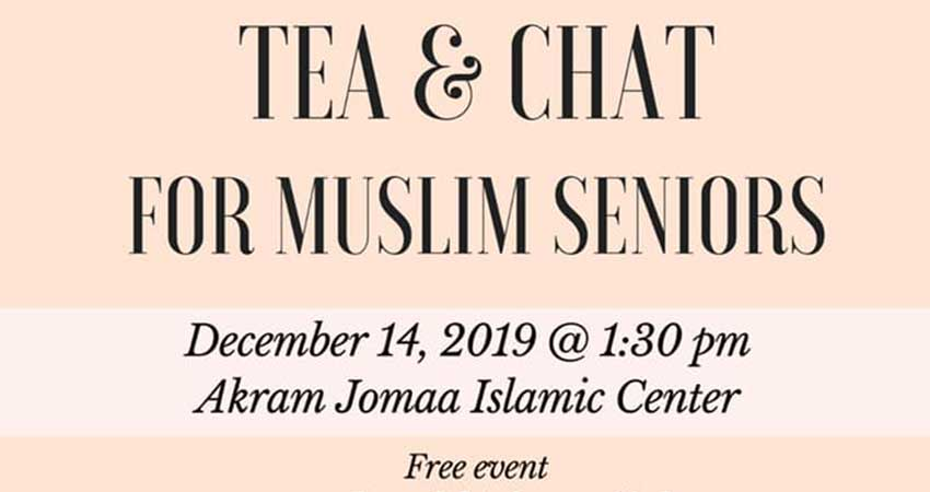 Tea and Chat for Muslim Seniors