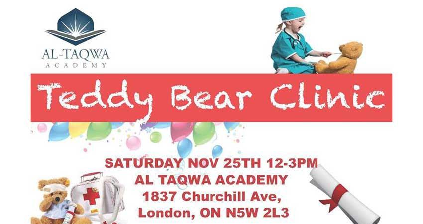 Al-Taqwa Academy Teddy Bear Clinic