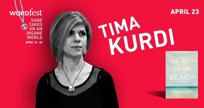 Wordfest presents Tima Kurdi hosted by Amanda Lindhout