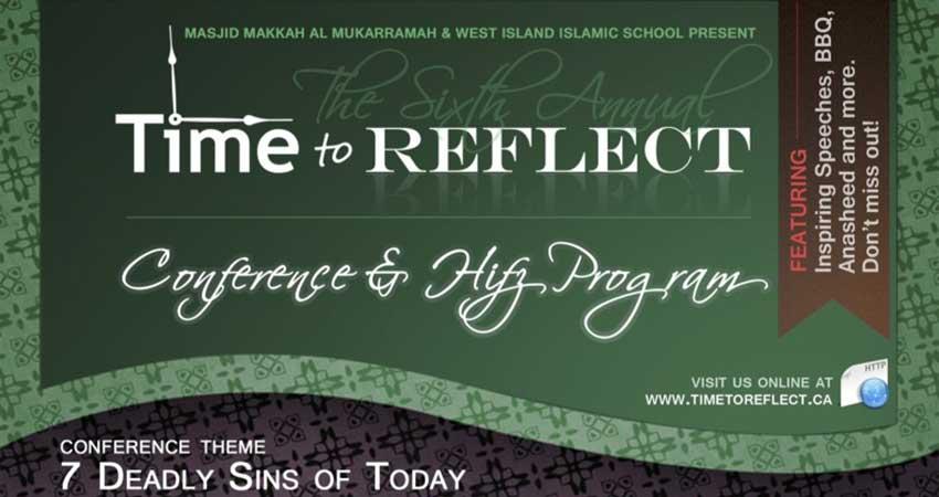 Time to Reflect Conference 2017 at Masjid Makkah-al-Mukarramah