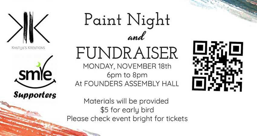 TMA SMILE Paint Night Fundraiser