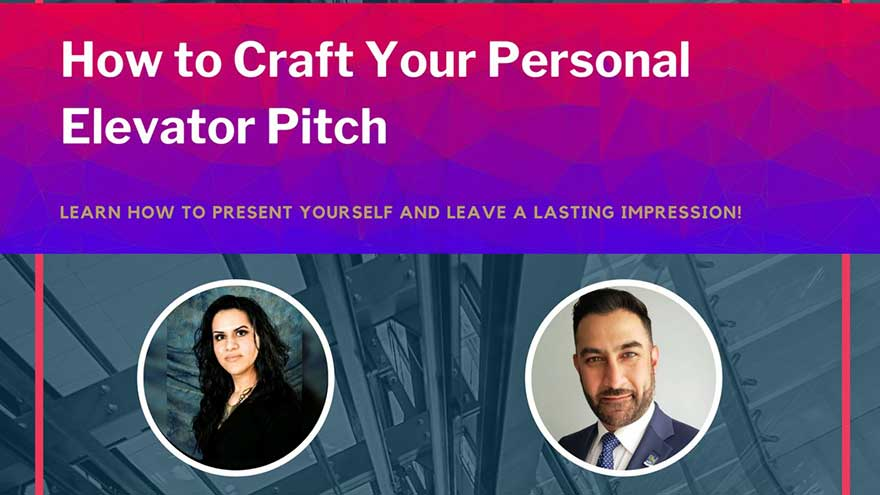 ONLINE MAX Mentors How to Craft Your Personal Elevator Pitch (Register ASAP)