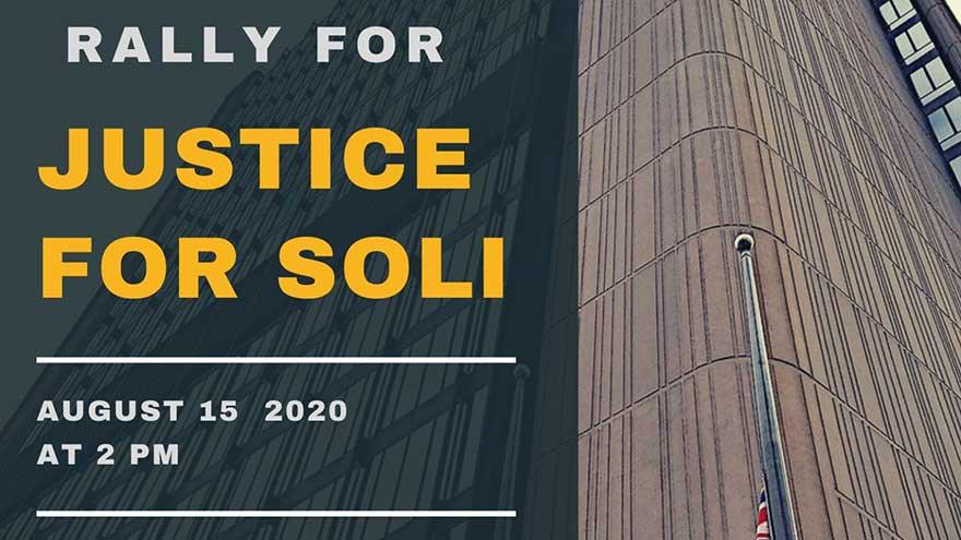 Toronto Rally for Justice For Soli