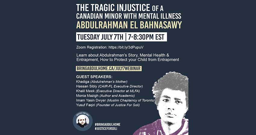 ONLINE The Tragic Injustice of a Canadian Minor with Mental Illness: Abdulrahman El Bahnasawy