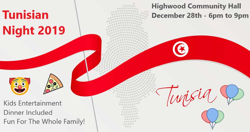 Alberta Tunisian Association Tunisian Night 2019