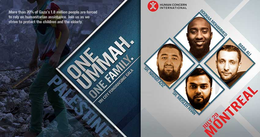 Human Concern International One Ummah. One Family: Fundraising Gala for Palestine