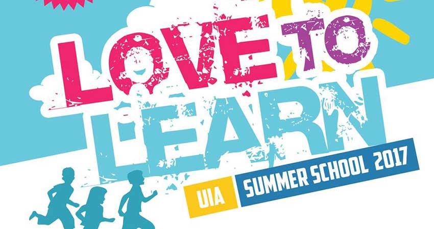 Love To Learn: UIA Summer School 2017