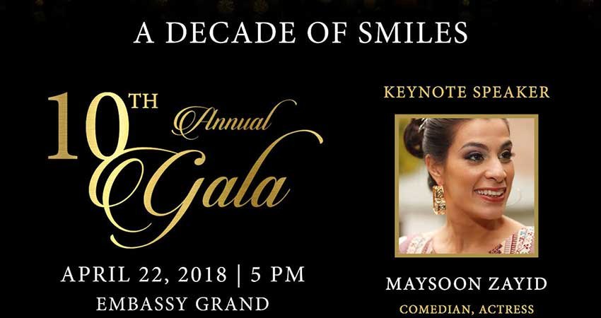 Decade of SMILEs - Our 10th Anniversary Celebration Gala