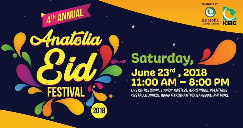 Anatolia Eid Festival 2018