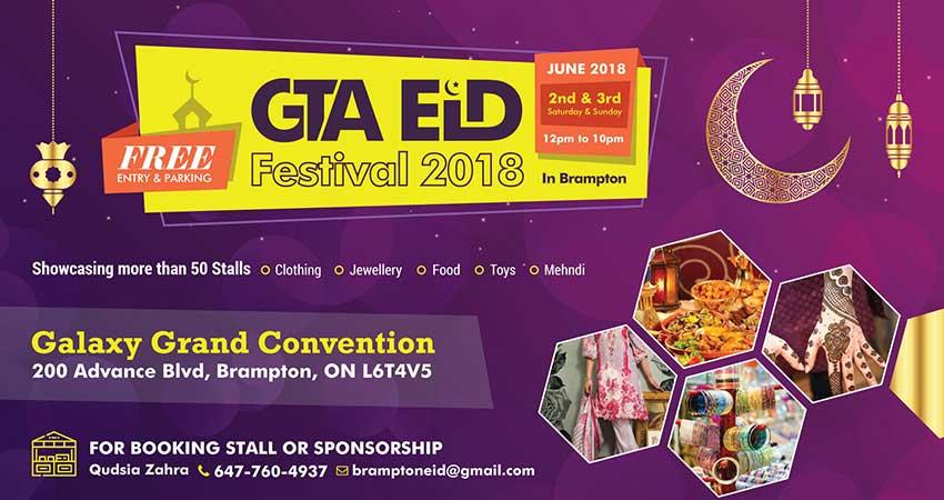GTA Eid Festival Brampton