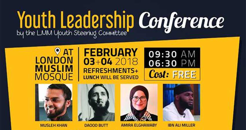 London Muslim Mosque Youth Leadership Conference