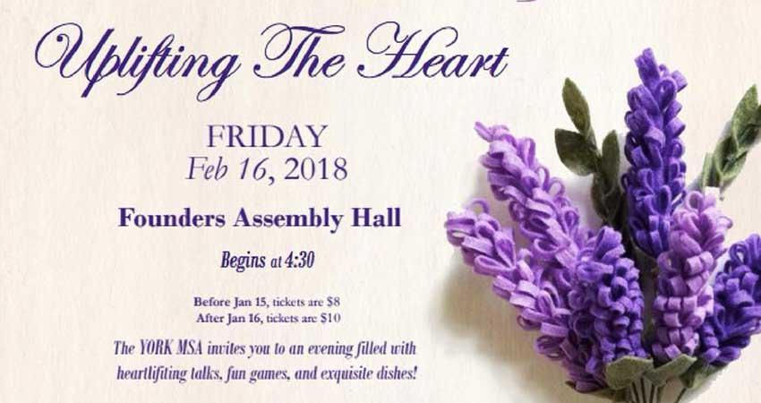 York MSA Uplifting The Heart - Mental Health Sisters Gala Dinner