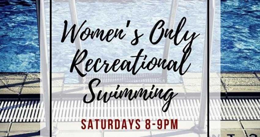University of Regina Women's Only Recreational Swimming