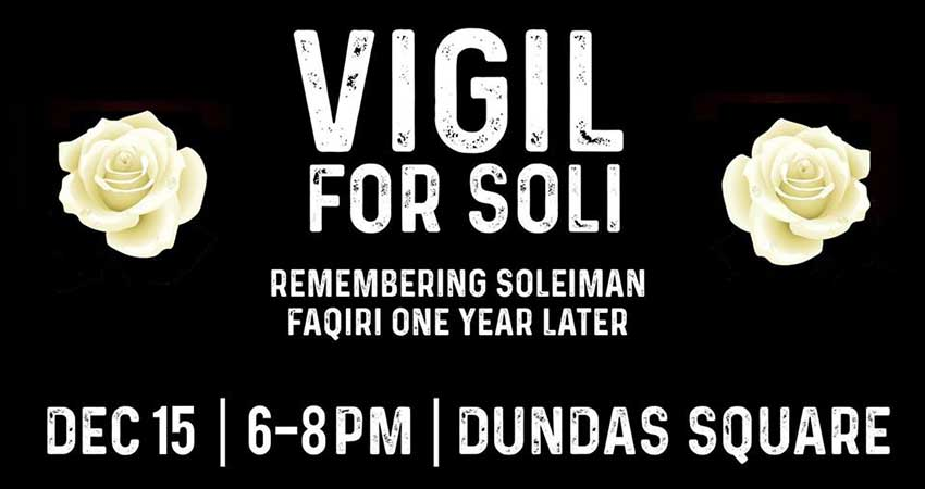 Justice For Soli Vigil for Soli One Year Later