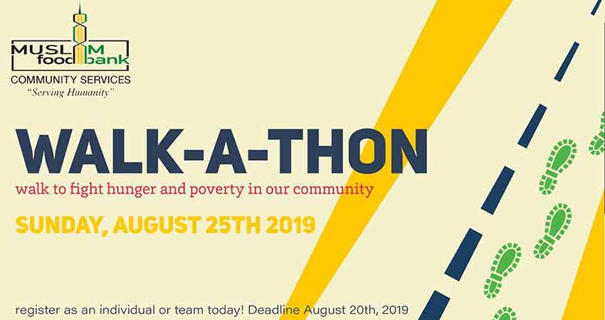 Muslim Food Bank and Community Services Walk-A-Thon 2019