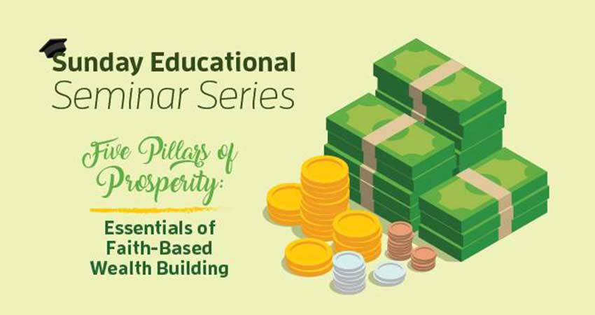 ISNA Canada Sunday Seminar - Essentials of Faith-Based Wealth Building