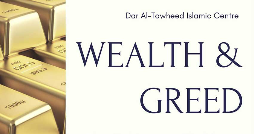 Wealth & Greed - One Day Conference