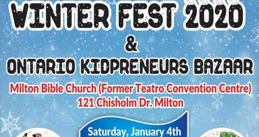 Winter Fest and Kidpreneurs Bazaar
