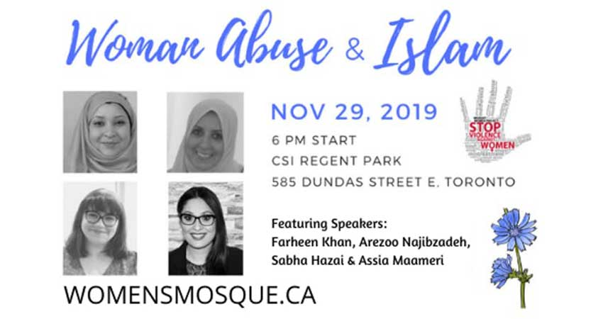 Woman Abuse and Islam Panel Discussion