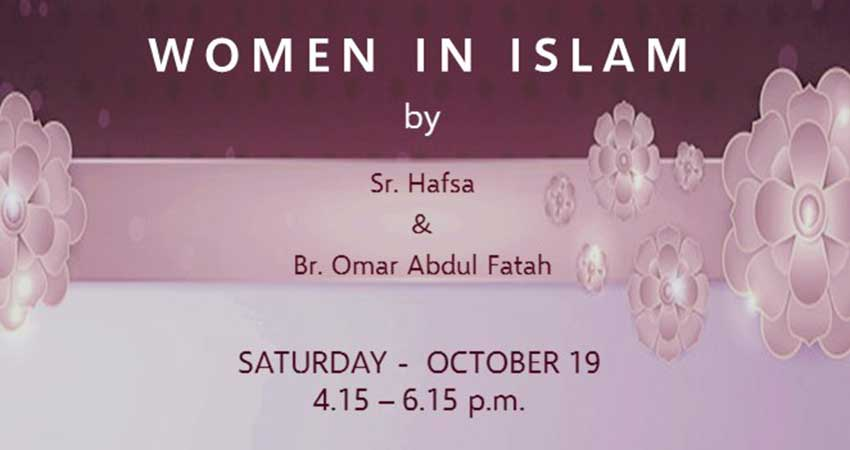 Ajyal Islamic Centre Halaqa and Potluck Social Women in Islam