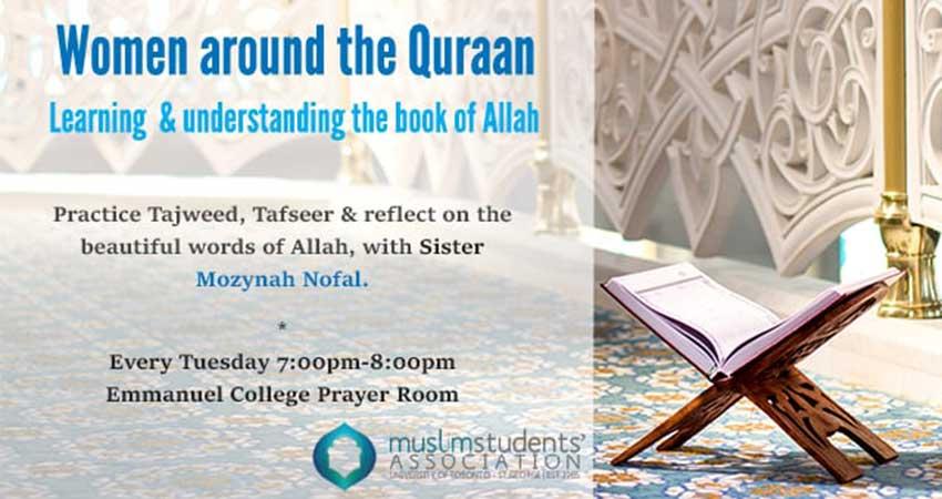 MSA U of T Women around the Quran