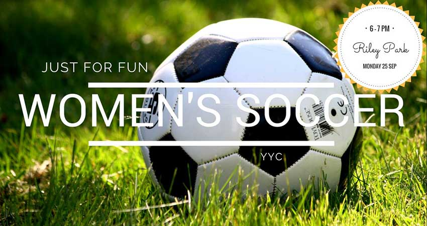Just For Fun Women's Soccer YYC