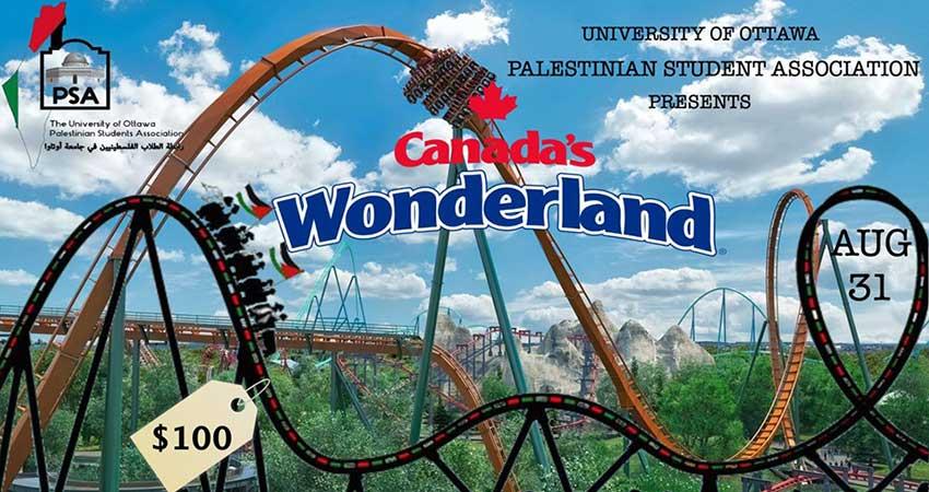 Palestinian Students Association Wonderland Trip