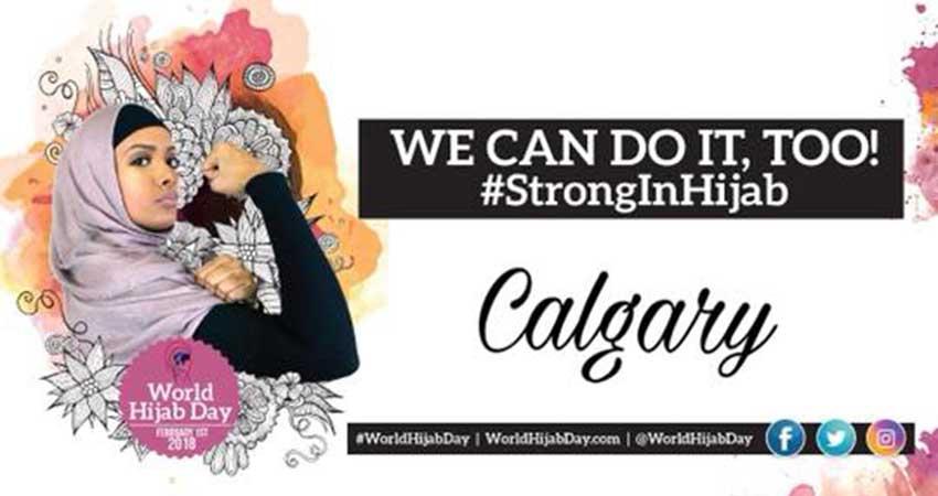 The World Hijab Day Calgary