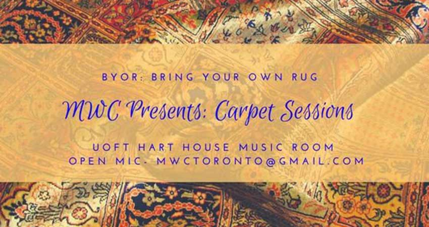 Muslim Writers Collective Open Mic: Carpet Sessions