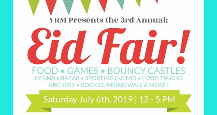 York Region Muslims Eid Fair 2019