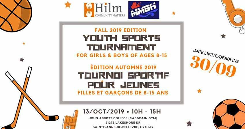 Montreal Muslim Ball Hockey Youth Sports Tournament Registration Deadline Sep. 30
