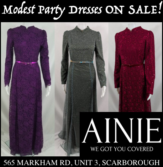 Ainie Modest Party Dresses