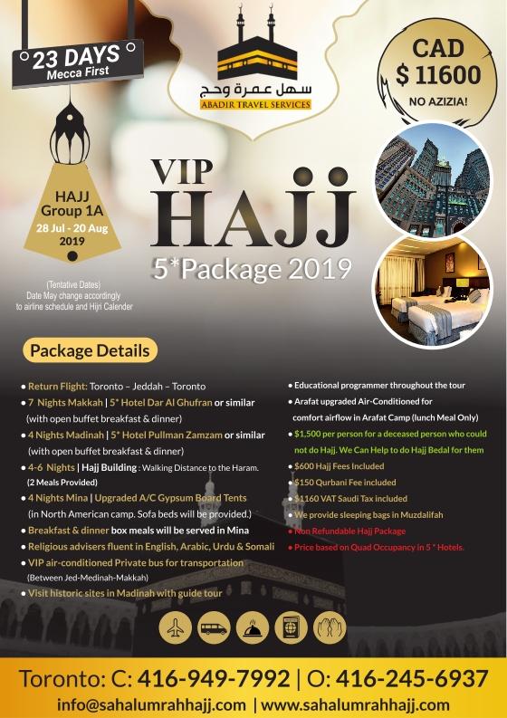 Abadir Travel Hajj Package 2 001