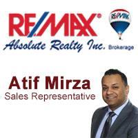 Atif Mirza ReMax Realtor
