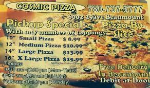 Cosmic Pizza