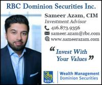 Sameer Azam, CIM, RBC Wealth Management
