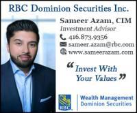 Sameer Azam, CIM, RBC Wealth Management