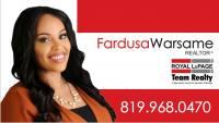 Fardusa Warsame, Real Estate Services