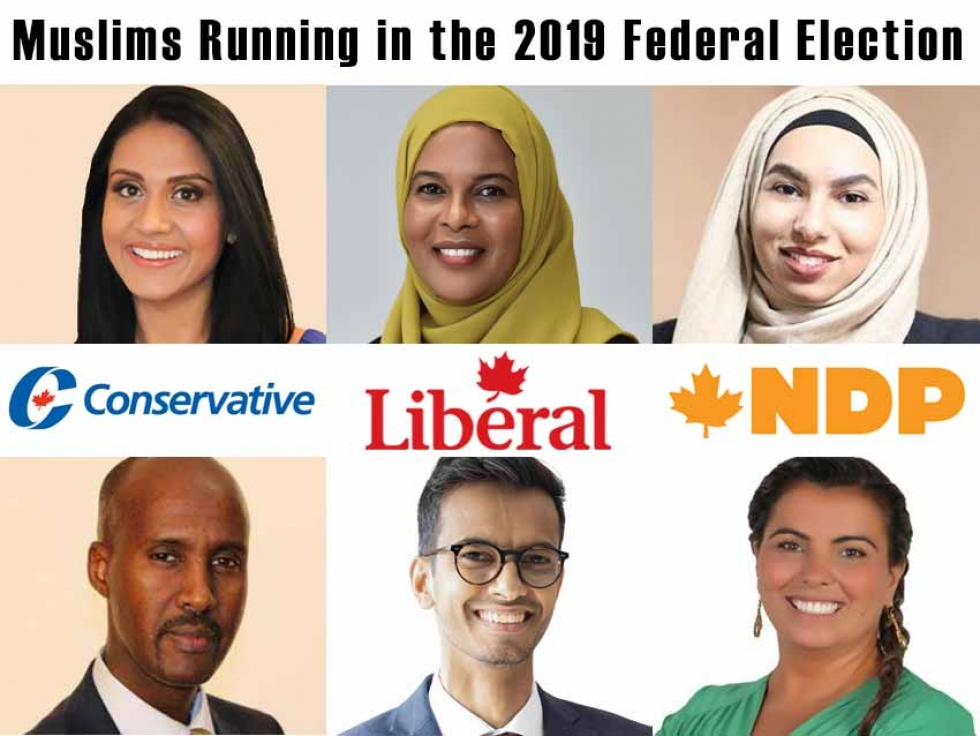 Muslim Canadians Running in the 2019 Federal Election