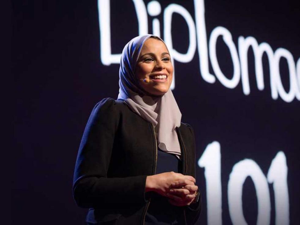 In 2015, Alaa Murabit was a speaker at TEDWomen in Monterey, California.