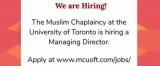Muslim Chaplaincy of Toronto Managing Director