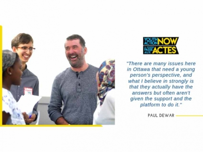 Paul Dewar's Legacy Initiative Launches Grant Program for Youth in Ottawa-Gatineau