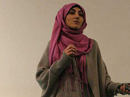 Haneen Alhassoun: Spoken word lets hijabi artist have her say